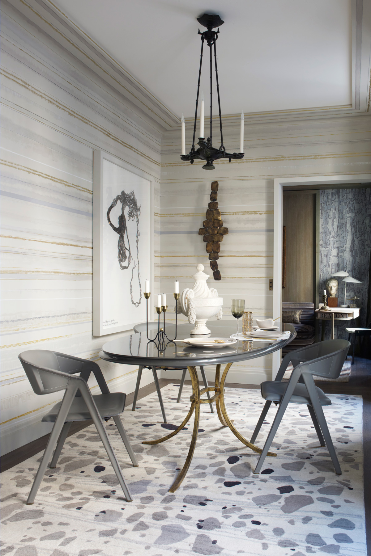 dining room by Jean Louis Deniot best dining room tables 10 of the best dining room tables for your home 1436466113 edc090112deniot09