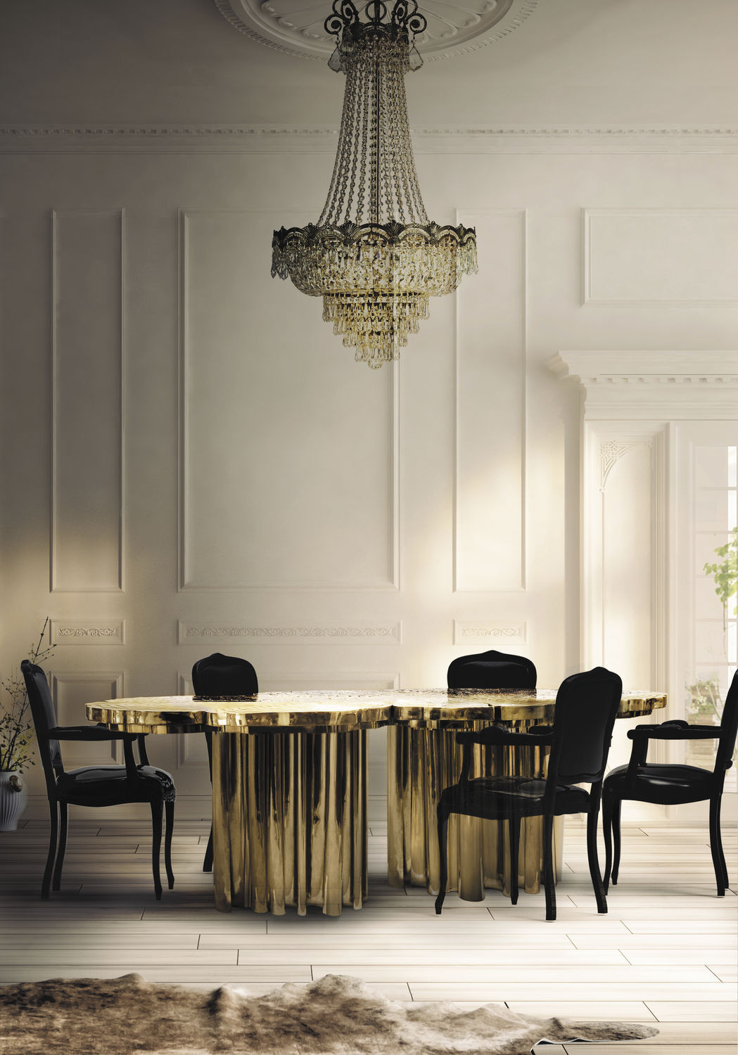 fortuna dining table  best dining room tables 10 of the best dining room tables for your home 66254 8487726