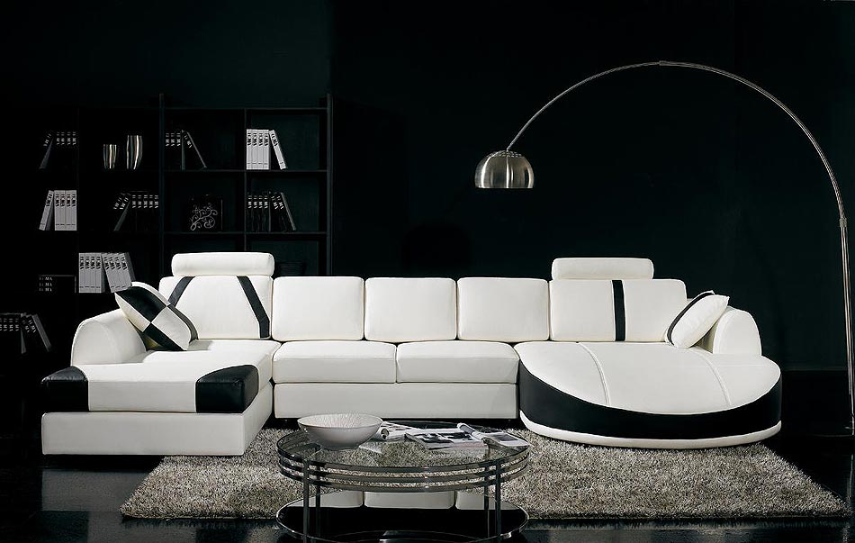 Best of Black and White Modern Living Rooms (6) black and white modern living rooms Best of: Black and White Modern Living Rooms Best of Black and White Modern Living Rooms 6