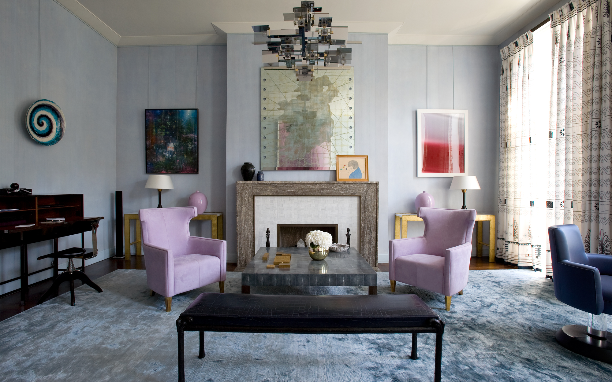 10 great living room projects by david collins for Home interior design london