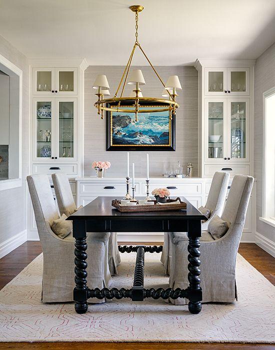 Fresh White Dining Rooms Design_03