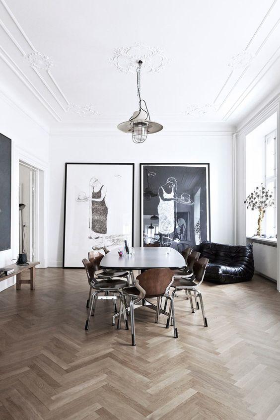 Fresh White Dining Rooms Design_04