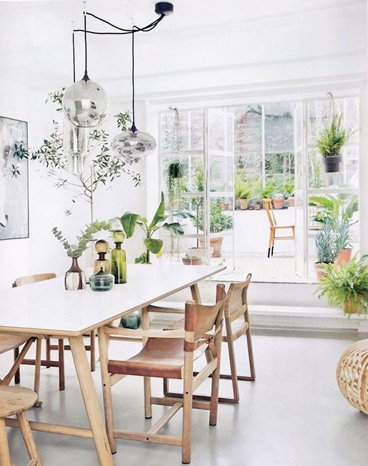 Fresh White Dining Rooms Design_09