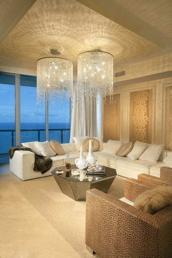 luxury chandeliers for living room. Black Bedroom Furniture Sets. Home Design Ideas