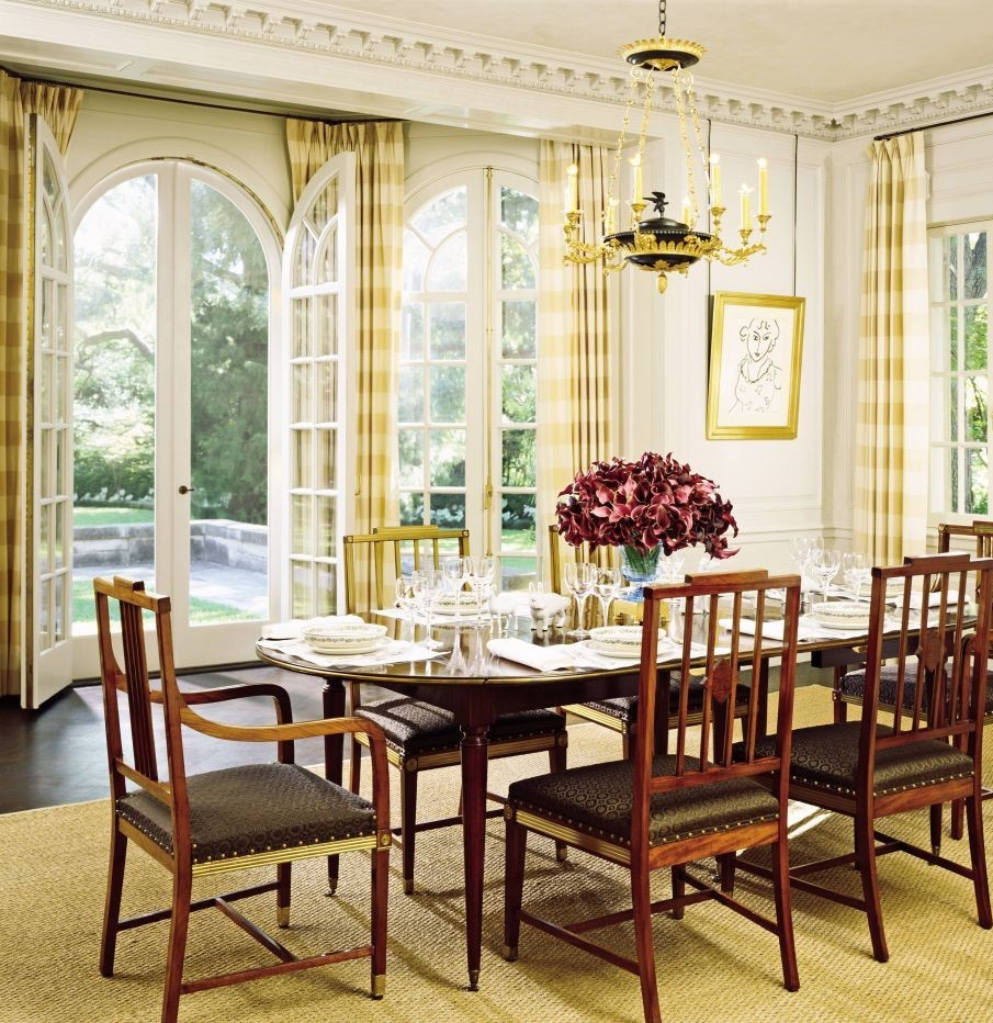 Peter Marino unique Dining Room Ideas