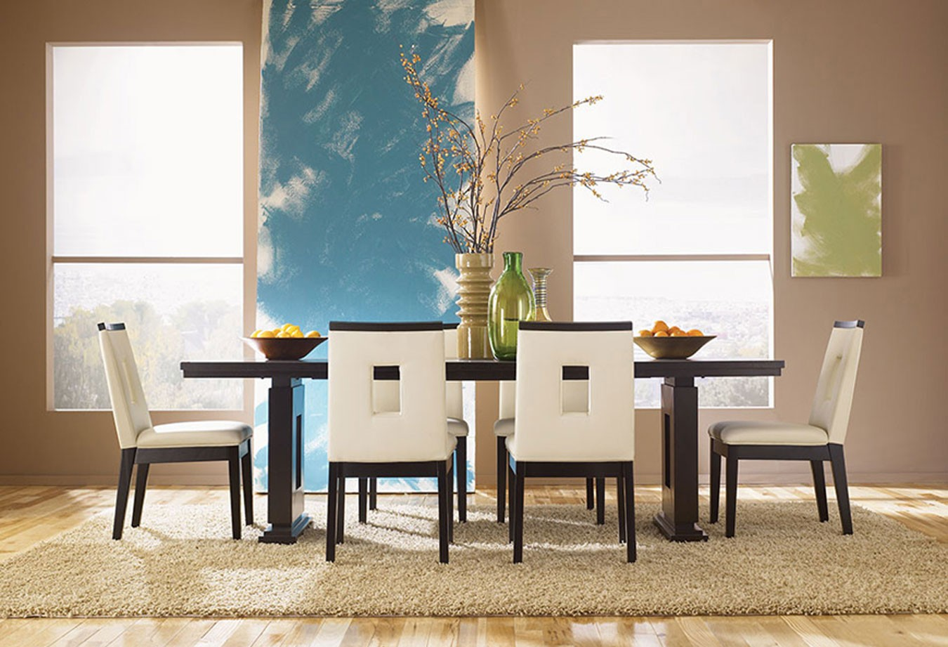 dining room trends for 2016 dining room trends for 2016 Top 10 dining room trends for 2016 Relaxing Dining Room Furniture Paint Colors Ideas With Natural Expanding Dining Table Design And White Wood Chair Padded Seat Design Also Charming Feather Carpet Ideas Plus Bowl Of Fruit Ideas e1459360411131