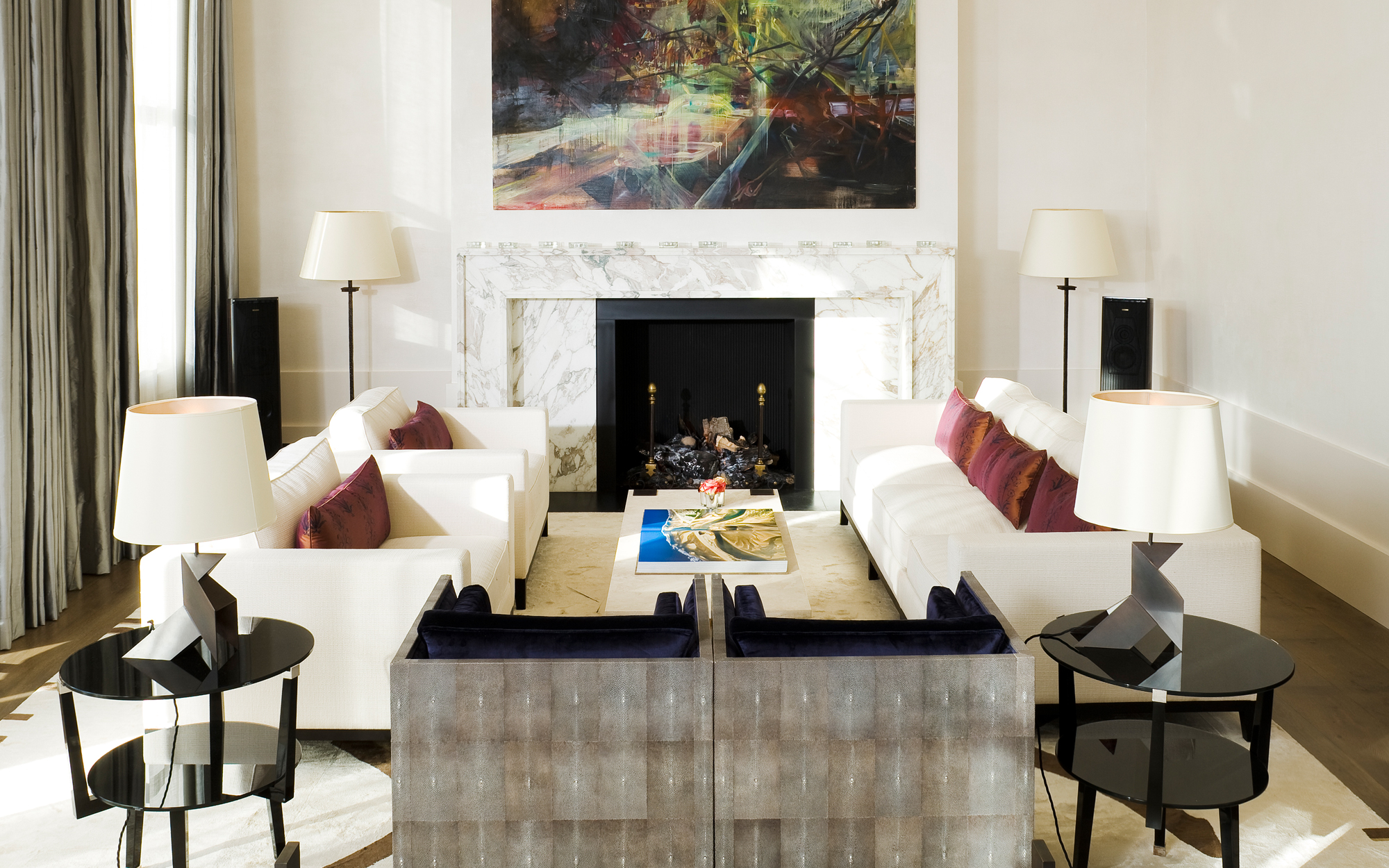 10 great living room projects by david collins 10 great living room projects by David Collins contemporary family home by david collins