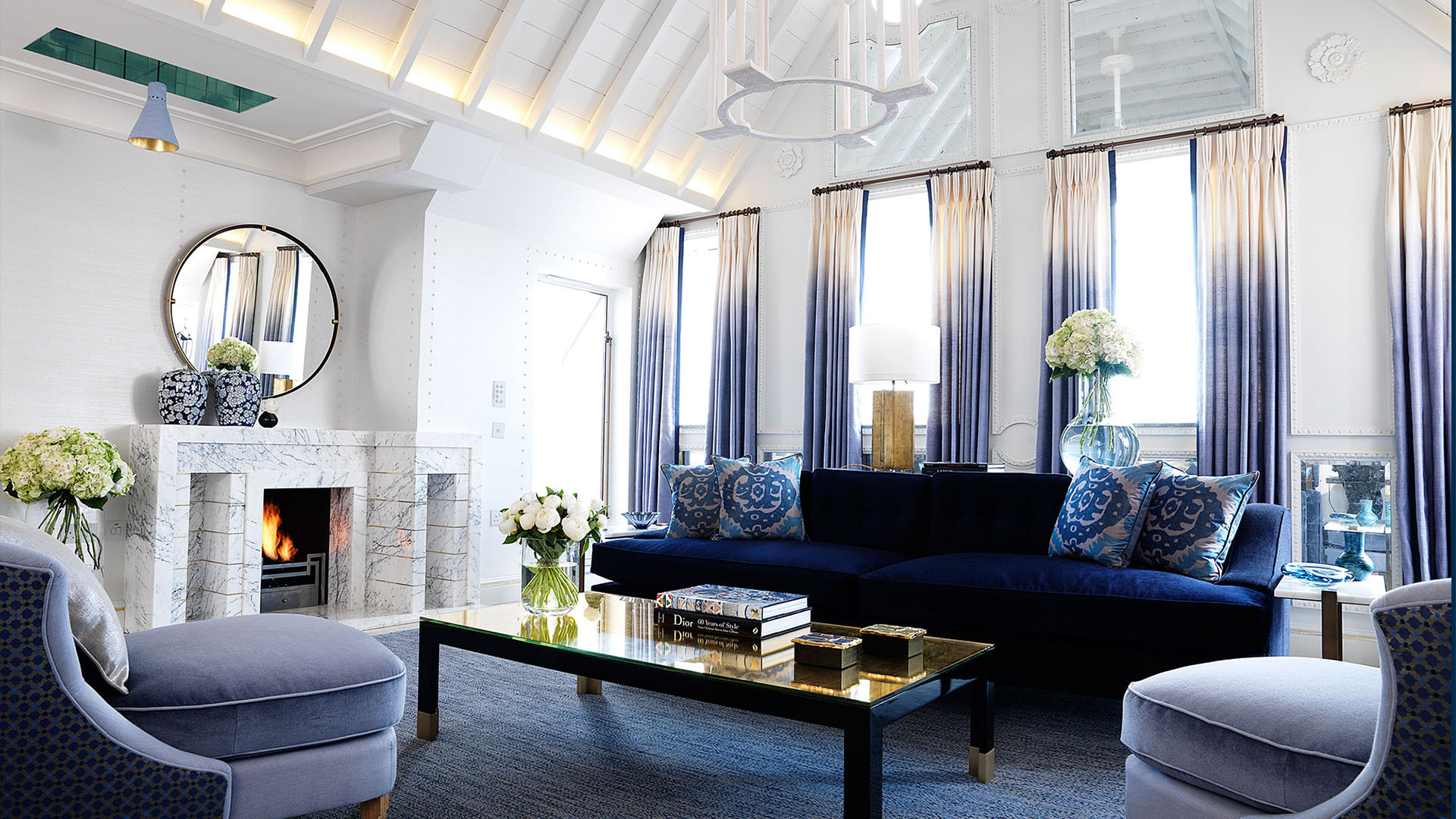 10 great living room projects by David Collins interior design