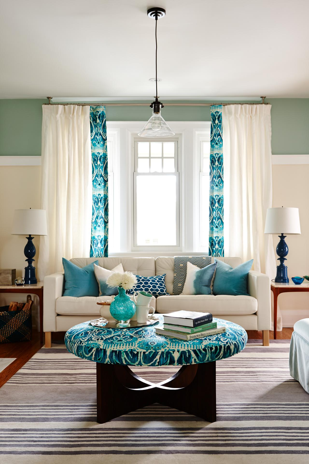 Living Room With Turquoise Accents Living Room With Turquoise Accents 10  Ideas For How To Decorate