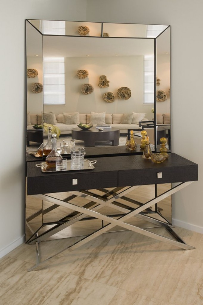 modern interior design mirrors  modern interior design mirrors 10 Amazing modern interior design mirrors for your living room modern mirrors 3