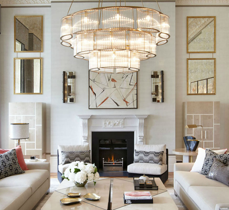 10 great living room projects by david collins for London living room ideas