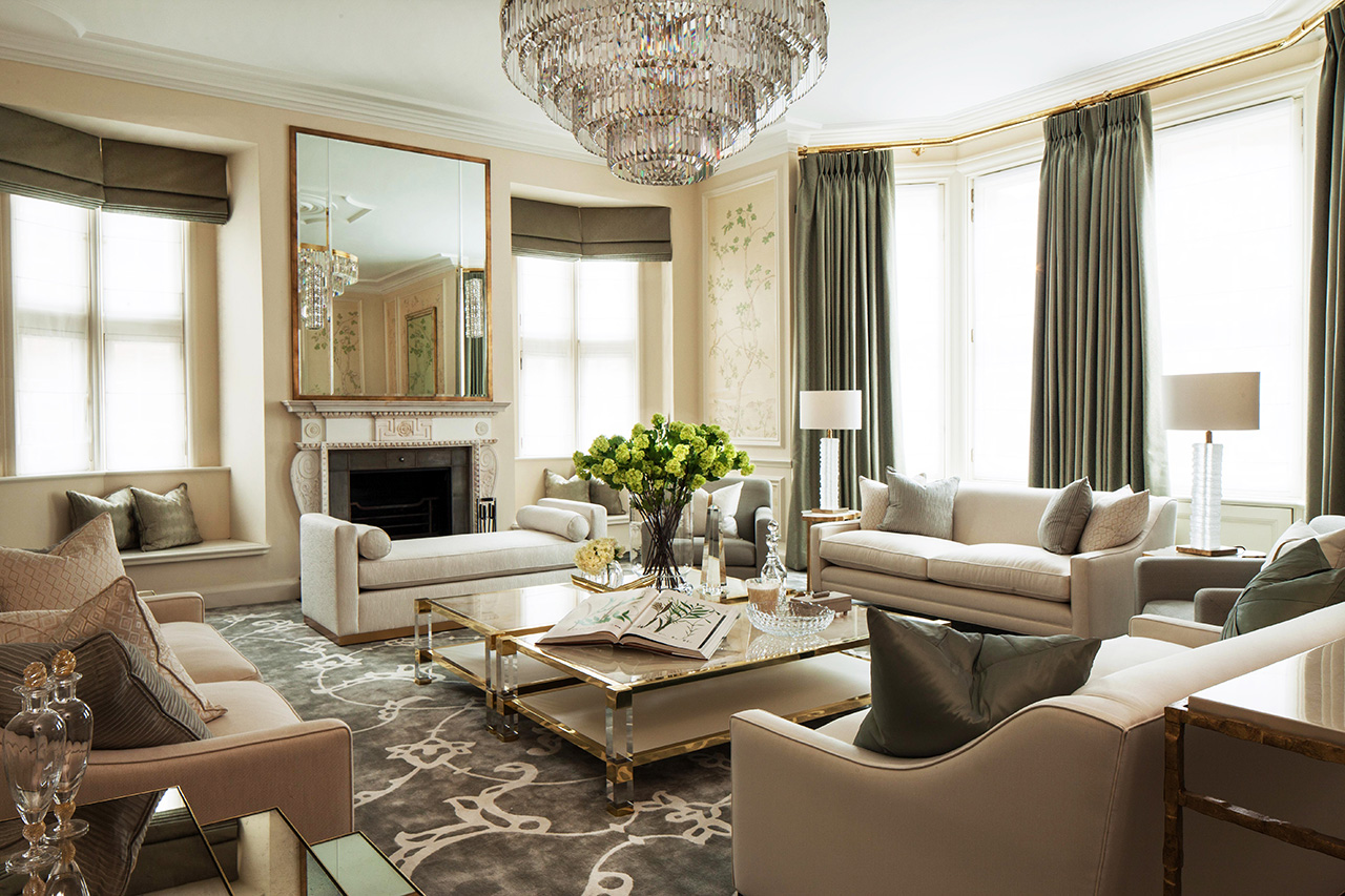 luxury living room decoration luxury living room decoration 10 Luxury Living Room Decoration by Katharine Pooley 02 Mayfair Townhouse project