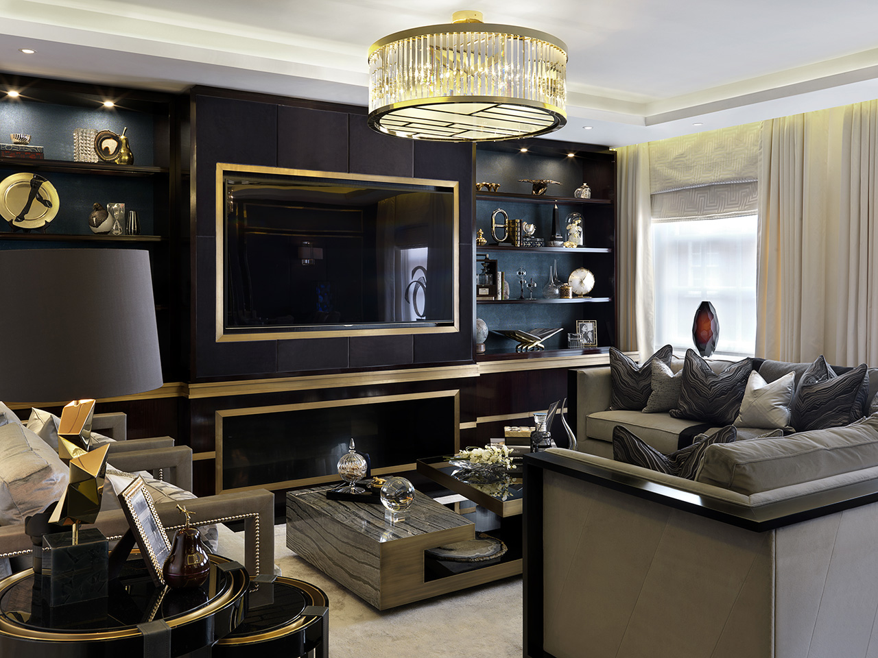 luxury living room decoration luxury living room decoration 10 Luxury Living Room Decoration by Katharine Pooley 03 Grosvenor Square1 project by Katherine pooley