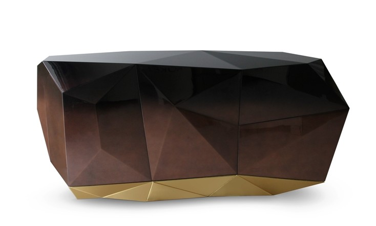 dining room sideboard decorating ideas dining room sideboard decorating ideas Elegant Dining Room Sideboard Decorating Ideas DIAMOND CHOCOLATE Sideboard Credenza Buffet by Pedro Sousa from BOCA DO LOBO Limited Edition Collection 2013 re edition 1 e1460653766918