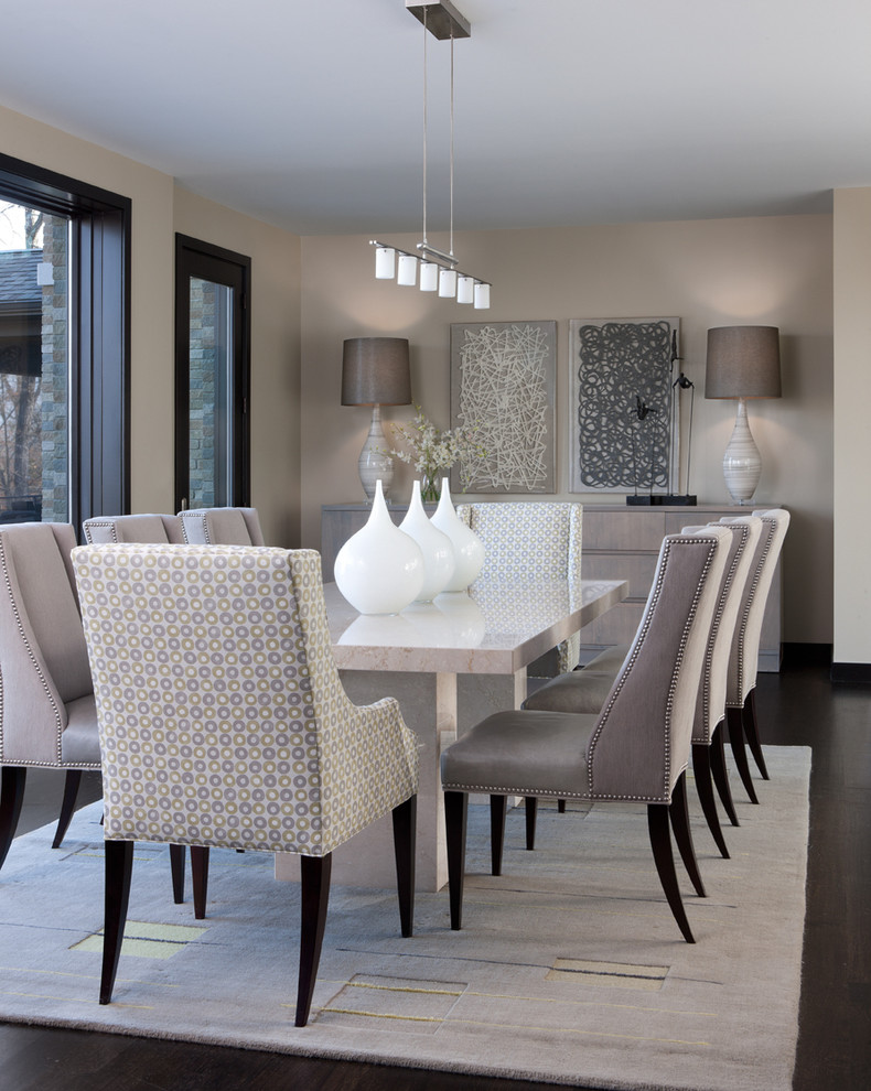 Modern Dining Room Sets for Your Home Design  modern dining room sets Modern Dining Room Sets for Your Home Design Impressive Faux Leather Dining Chair Covers Decorating Ideas Gallery in Dining Room Contemporary design ideas