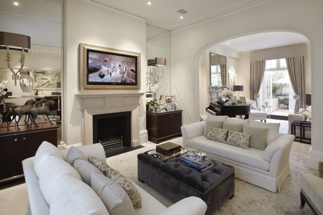10 luxury living room decoration by katharine pooley for London living room ideas