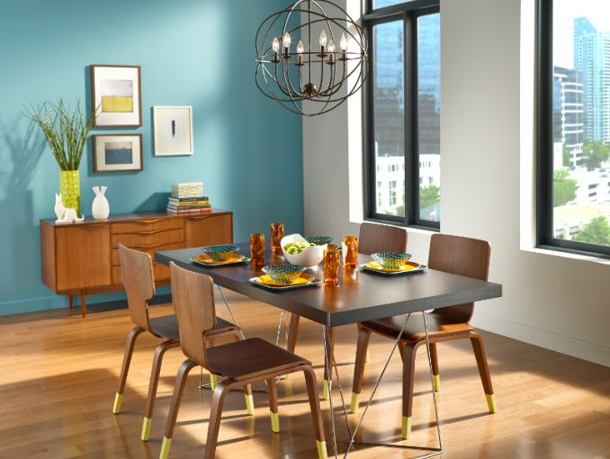 spring decor trends spring decor trends Spring Decor Trends For Your Dining Room Set modern eclectic dining room mid2