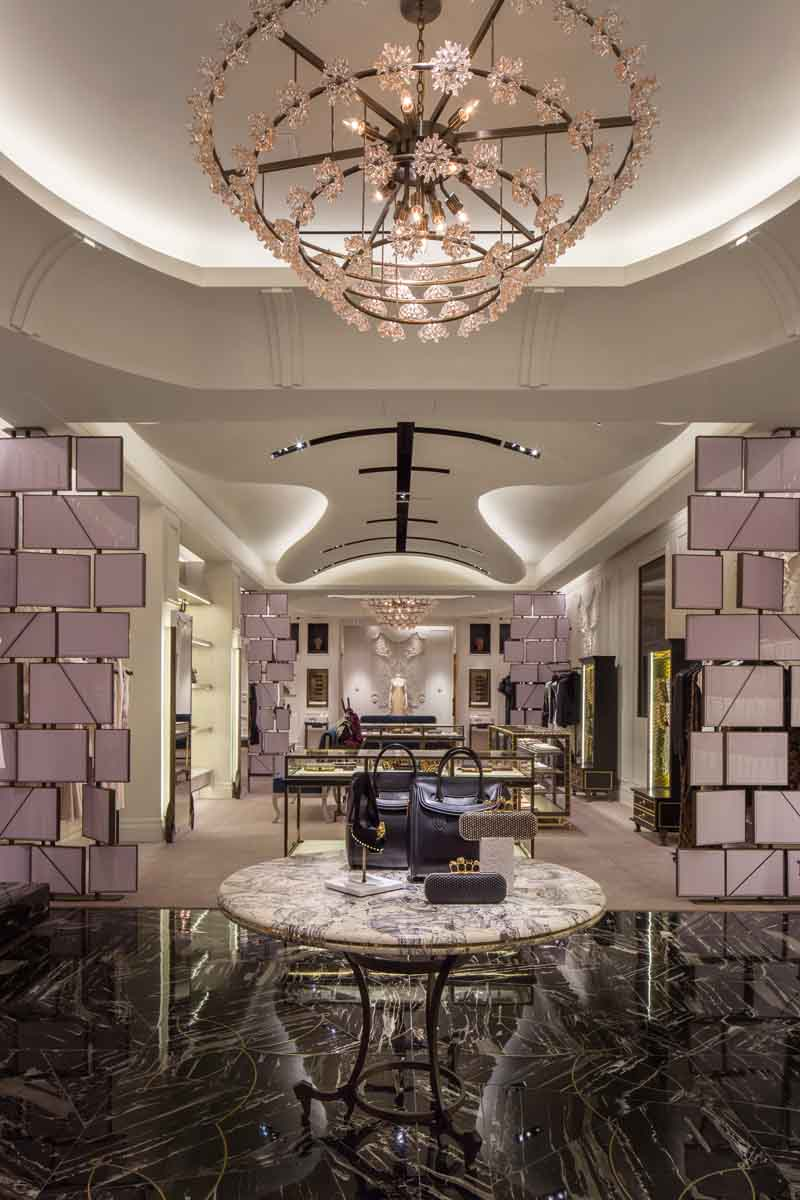 Fabulous Lighting Ideas by David Collins Interiors  david collins interiors Fabulous Lighting Ideas by David Collins Interiors Alexander McQueen Bal Harbour 3