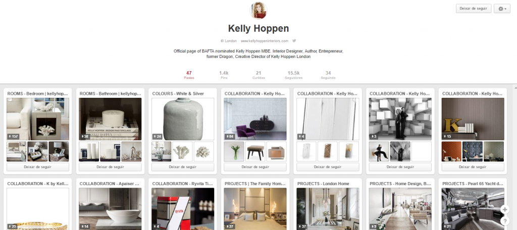 Kelly Hoppen Pinterest  best pinterest for interior design 10 of the Best Pinterest for Interior Design Best Pinterest for interior design6 1024x456