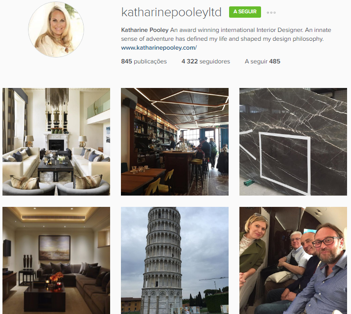 Katharine Pooley Instagram Account Best Interior Designers 10 To Follow
