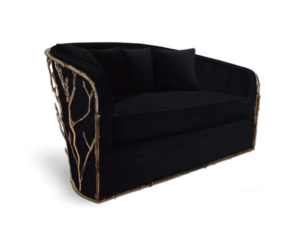Koket loveseat  loveseat design Get Inspired with These Loveseat Design for Your Home Decor Loveseat design6