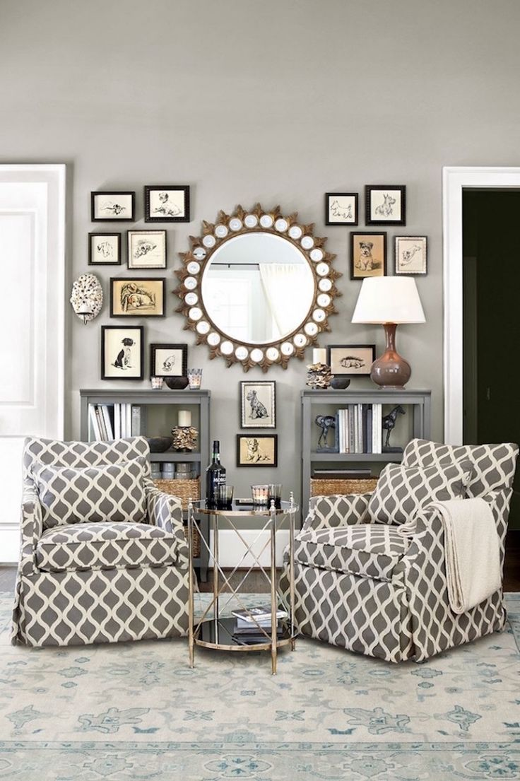 25 stunning wall mirrors d cor ideas for your home for Mirror wall decoration ideas living room