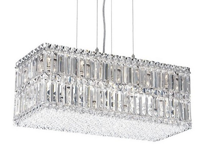 The Most Iconic Crystal Chandeliers  crystal chandeliers The Most Iconic Crystal Chandeliers modern lamps fall in love with swarovski crystals Schonbek Quantum 18 Light Chandelier with Swarovski Crystal 2280A1 e1462552404311