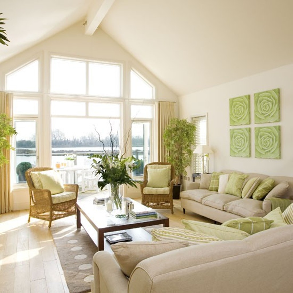 The Best Selection of Colors to Redecorate Your Living Room for Summer