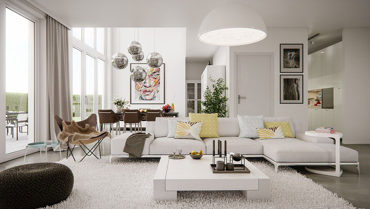 White Living Room 10 Fresh White Living Room Designs that will Leave you Astonished 10 Interior Design Trends for Your Living Room in 2017