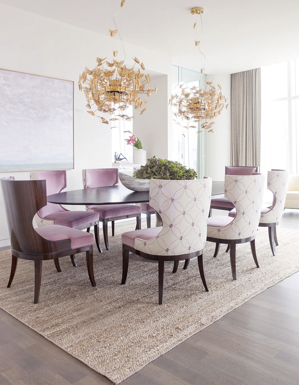 The Most Beautiful Dining Rooms of 2016. Most Beautiful Dining Room Pictures. Home Design Ideas