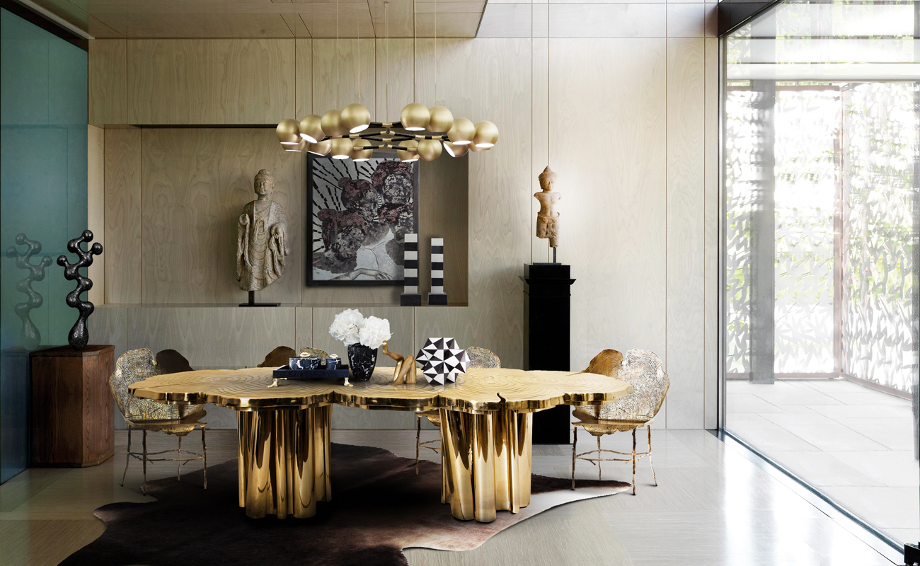 The most beautiful dining rooms of 2016 house beautiful for Most beautiful dining rooms