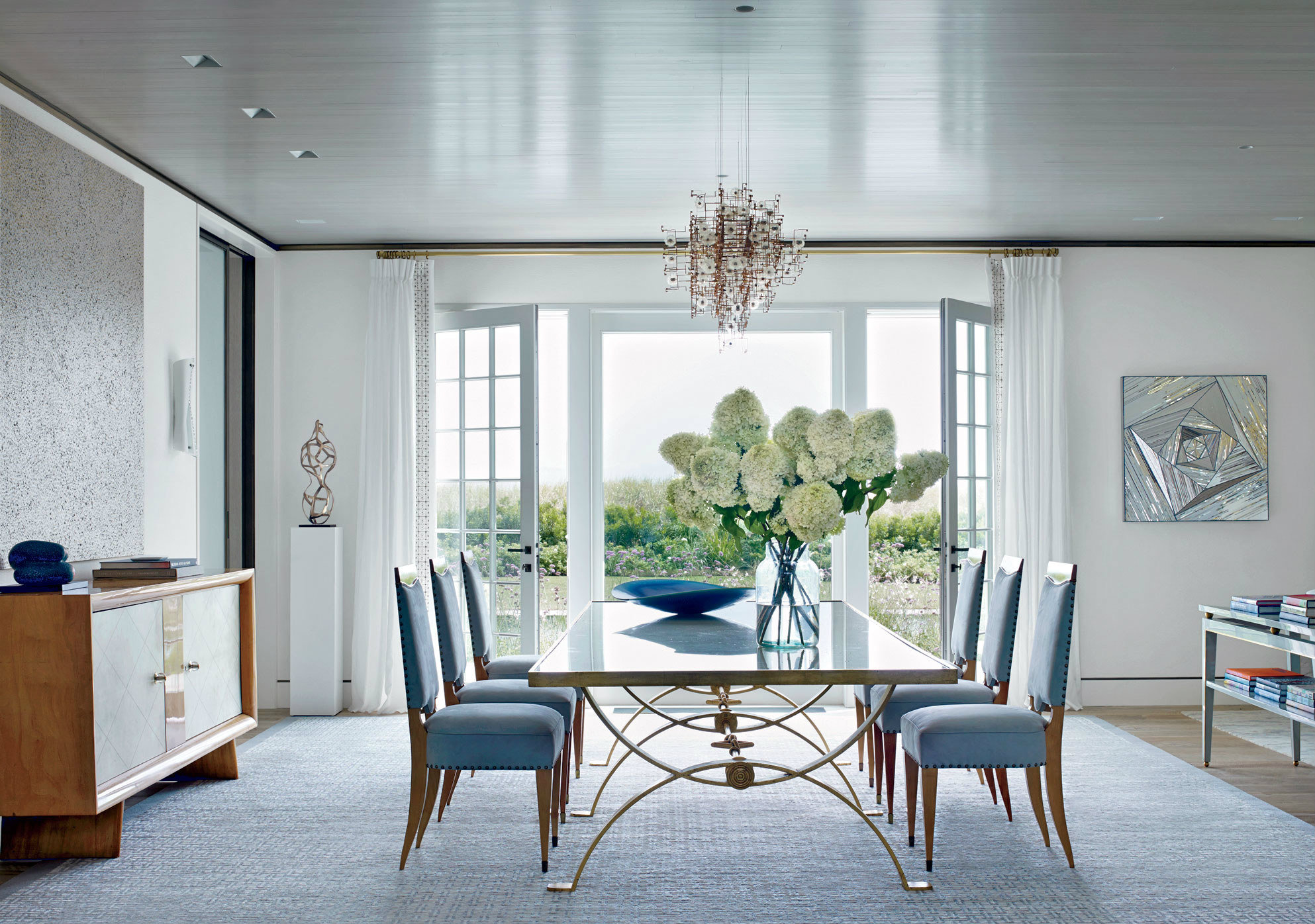 The most beautiful dining rooms of 2016 for Homes with beautiful dining rooms