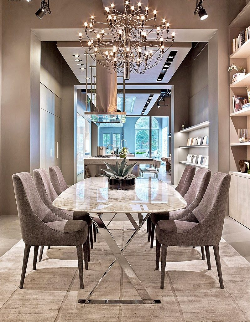 modern dining tables 25 Trendiest Modern Dining Tables for your Dining Space Top 50 Formal Dining Room Sets Ideas43 e1468341563274