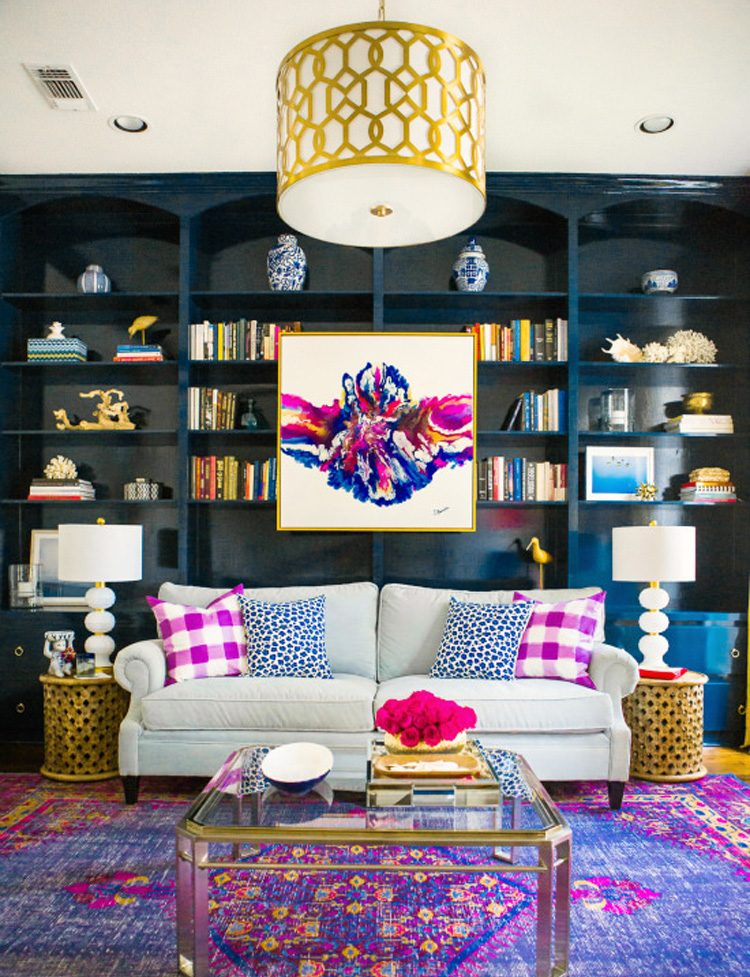 Living Room Design How to Give a Pop of Color to your Living Room Design 10 Incredible Summer Living Rooms to Copy5 e1471879481265