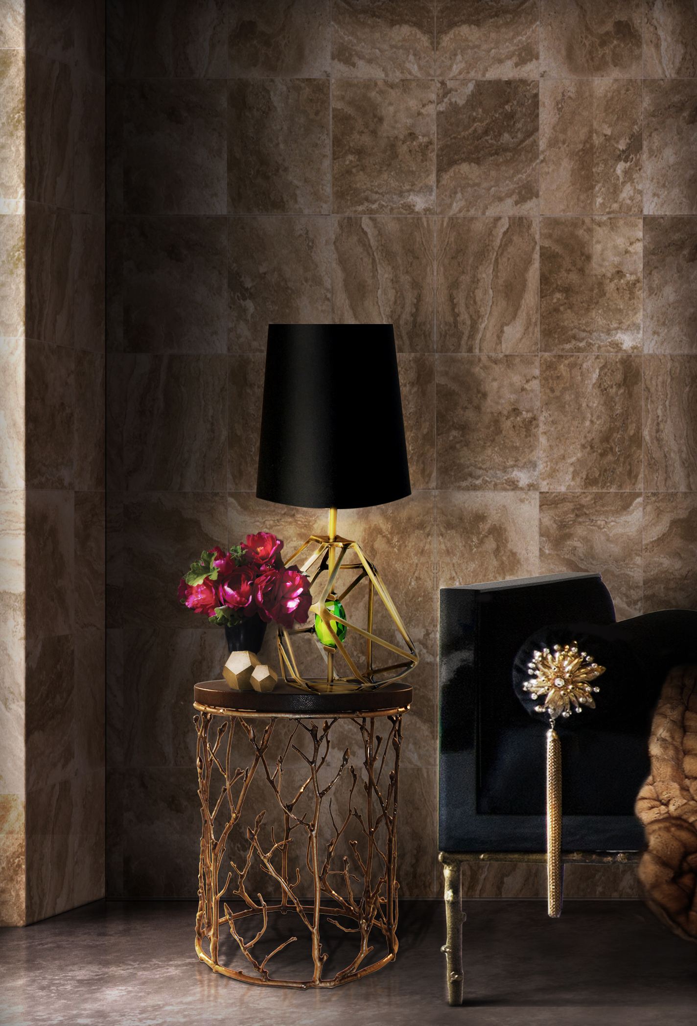 Iconic Design Pieces That Will Shine On Your Living Room Iconic Design  Pieces Iconic Design Pieces Gem Table Lamp ...