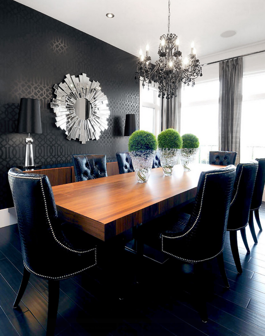 Top 10 Black Dining Rooms that will Delight You11 black dining rooms Top 10 Black Dining Rooms that will Delight You Top 10 Black Dining Rooms that will Delight You11