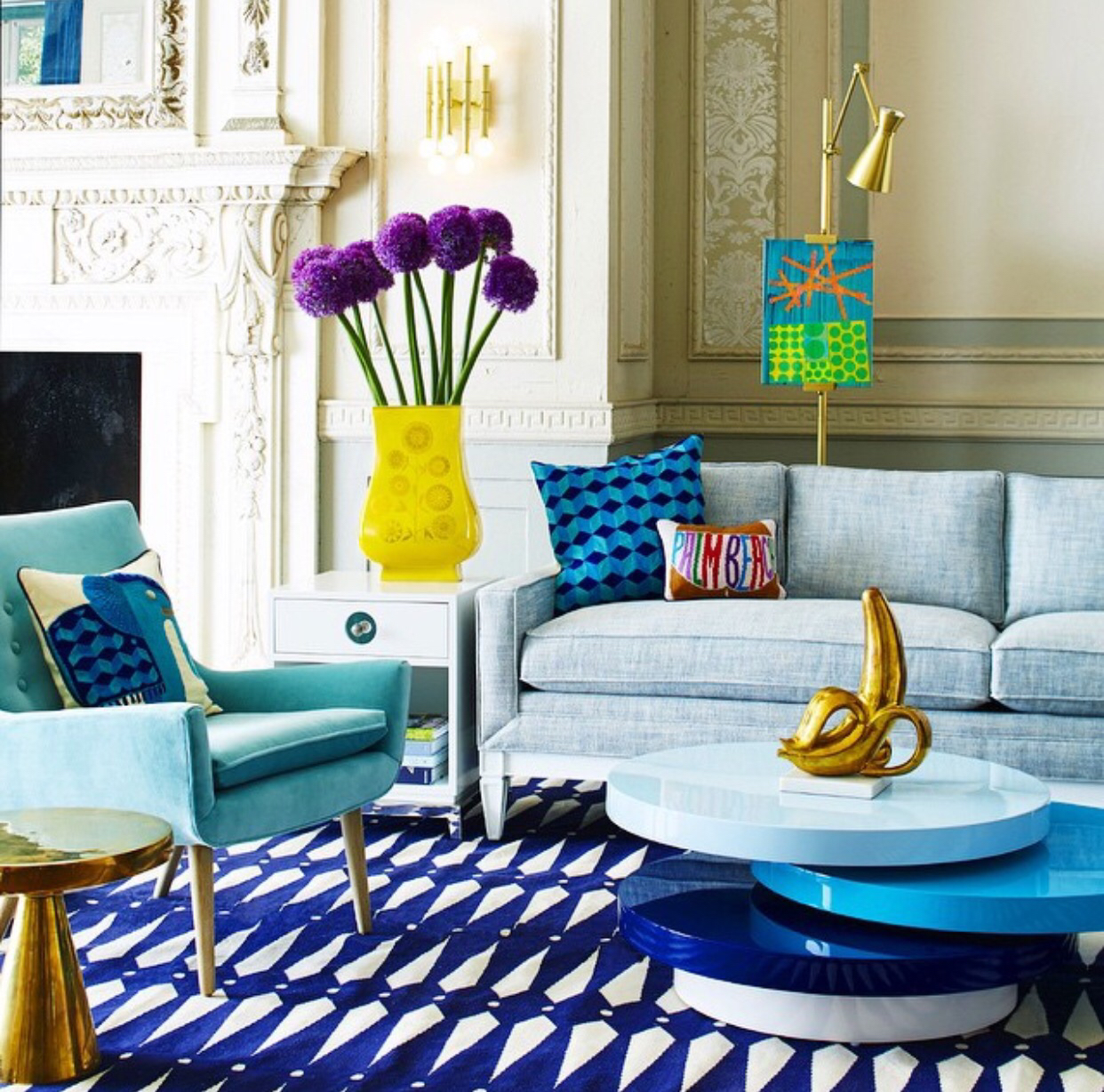 Jonathan Adler  winter living rooms 10 Cheerful Winter Living Rooms by Jonathan Adler 10 Cheerful Winter Living Rooms by Jonathan Adler8