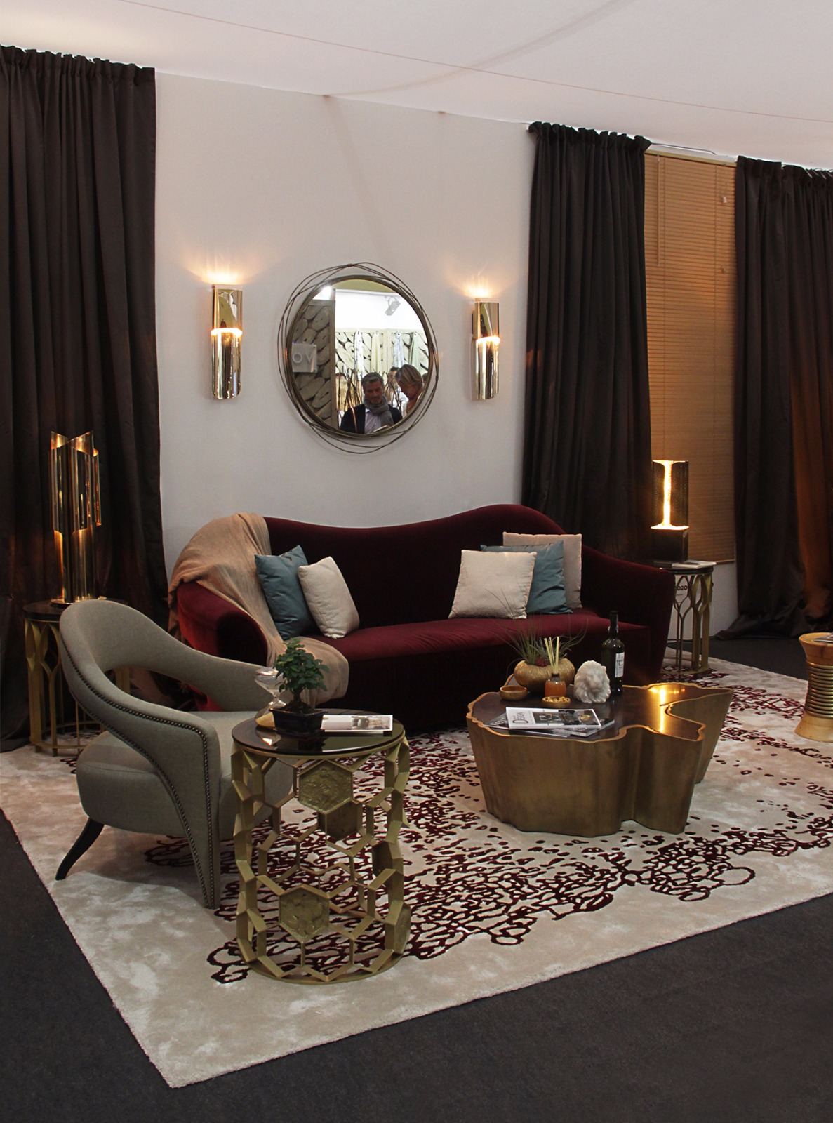 BRABBU living room set at Decorex International 2016  decorex international 2016 Get Inside Decorex International 2016: Take the First Look Get Inside Decorex International 2016 Take the First Look 1
