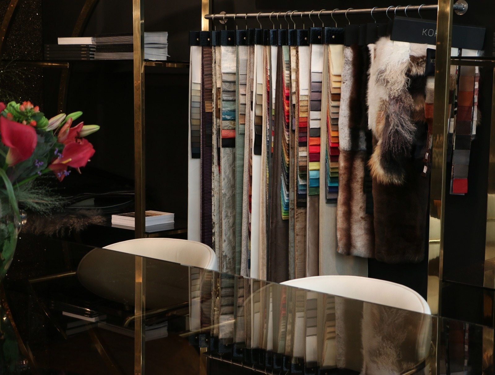KOKET Fabric collection at Decorex  decorex international 2016 Get Inside Decorex International 2016: Take the First Look Get Inside Decorex International 2016 Take the First Look 2