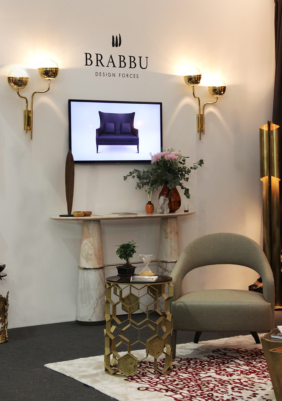 Brabbu at Decorex  decorex international 2016 Get Inside Decorex International 2016: Take the First Look Get Inside Decorex International 2016 Take the First Look 8