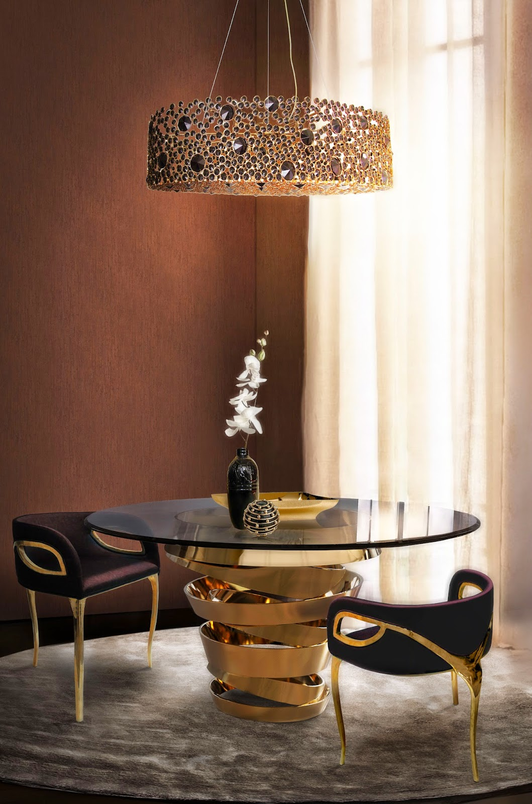 The Best Black And Gold Furniture For Your Living Room Décor Black And Gold  Furniture The