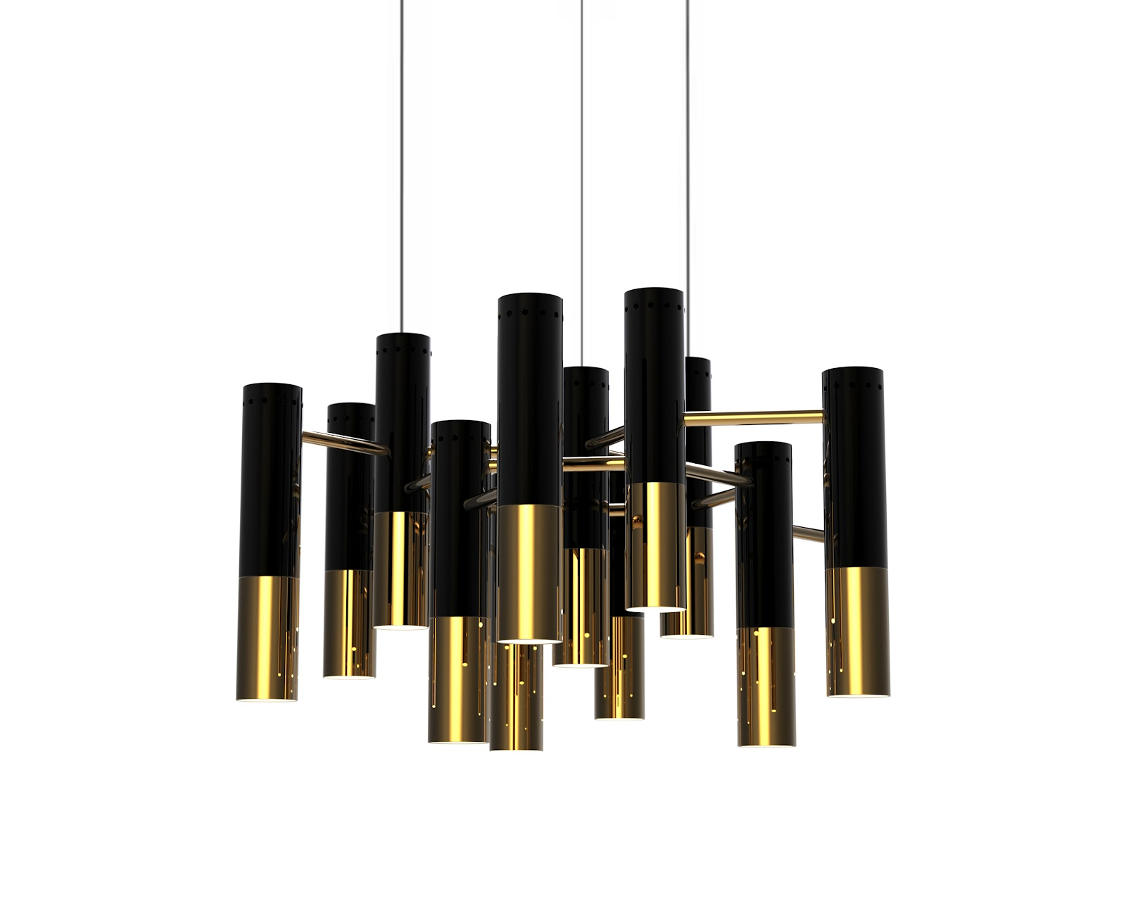 Ike Suspension Black And Gold Furniture The Best For Your Home Dcor