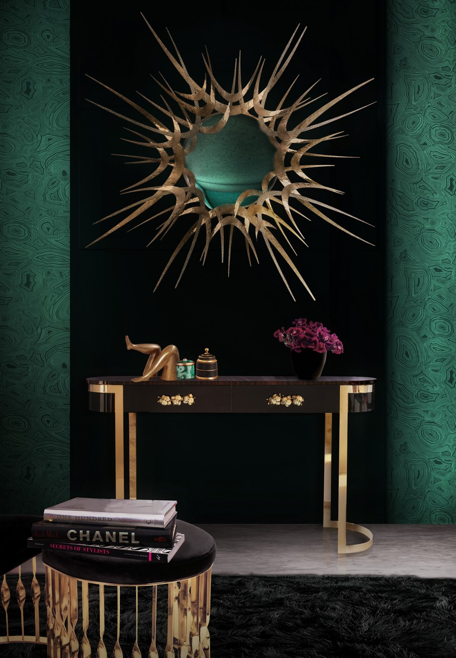 KOKET black and gold furniture The Best Black and Gold Furniture for your Home Décor The Best Black and Gold Furniture for your Living Room D  cor8