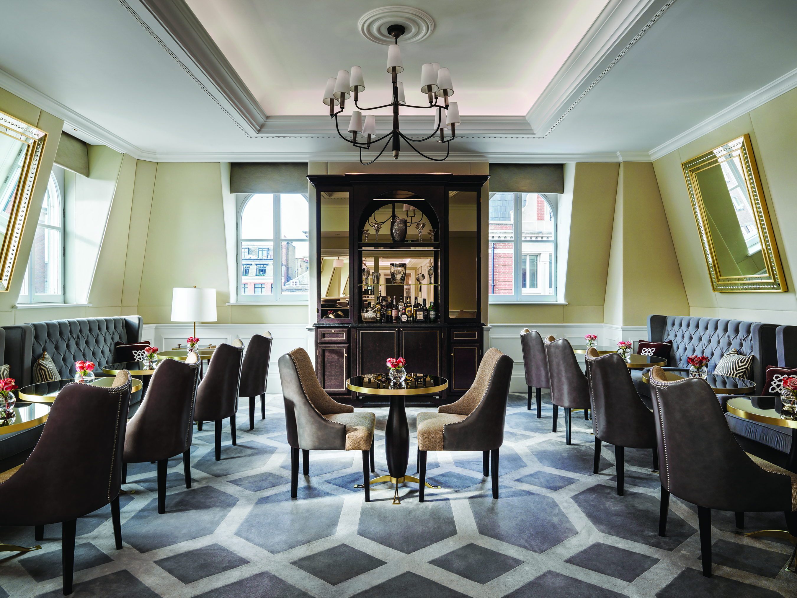 Discover The Best Hospitality Design Projects From Brabbu Contract  brabbu contract Discover The Best Hospitality Design Projects From Brabbu Contract The Langham Club Drawing Room