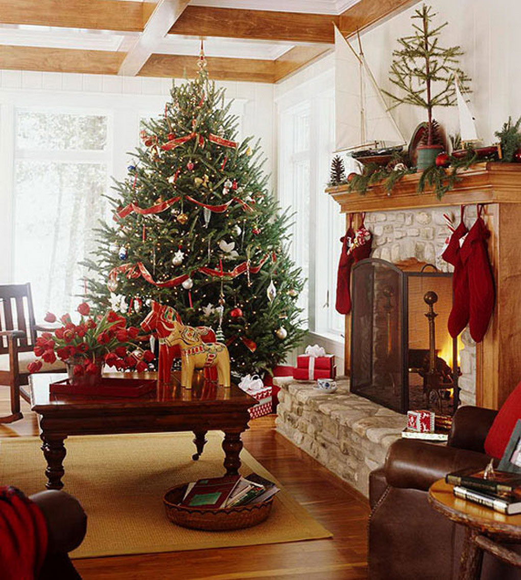 Christmas living room decorations - Get Inspired With These Amazing Living Rooms Decor Ideas For Christmas Living Rooms Decor Ideas For