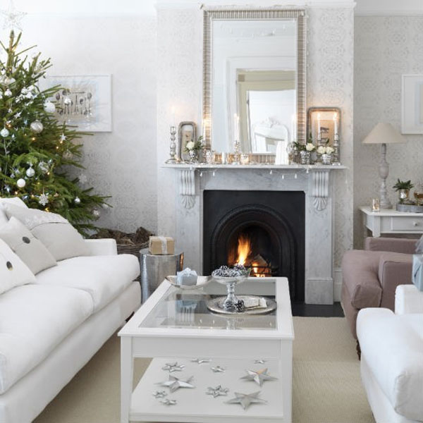 Get inspired with these amazing living rooms decor ideas for Christmas decor ideas for living room