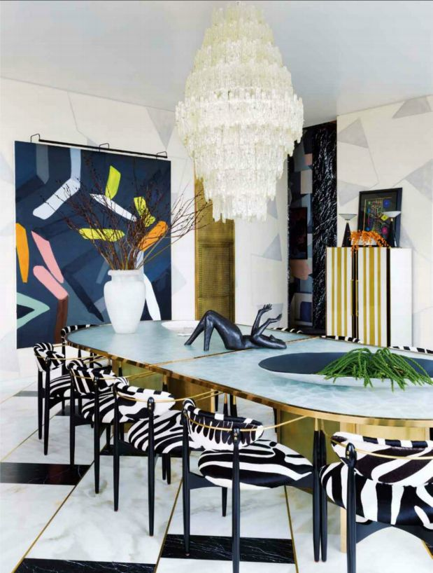 How to Give Elegance to Dining Rooms with Kelly Wearstler Style