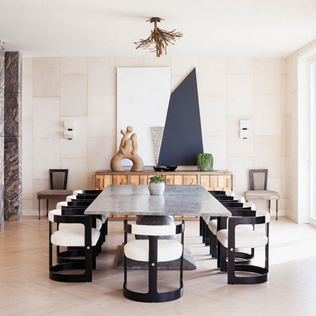 How to Give Elegance to your Dining Room by Kelly Wearstler