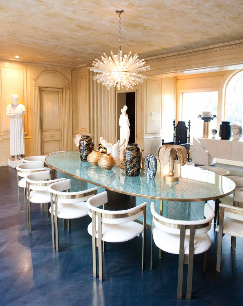 How to Give Elegance to Dining Rooms with Kelly Wearstler Style dining rooms with kelly wearstler How to Give Elegance to Dining Rooms with Kelly Wearstler Style How to Give Elegance to your Dining Room by Kelly Wearstler8
