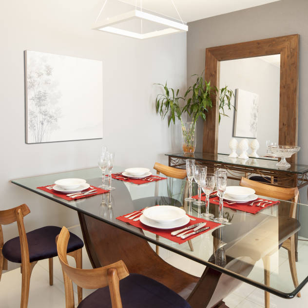 How To Make Small Bedrooms Look Bigger: How To Make A Small Dining Room Look Bigger